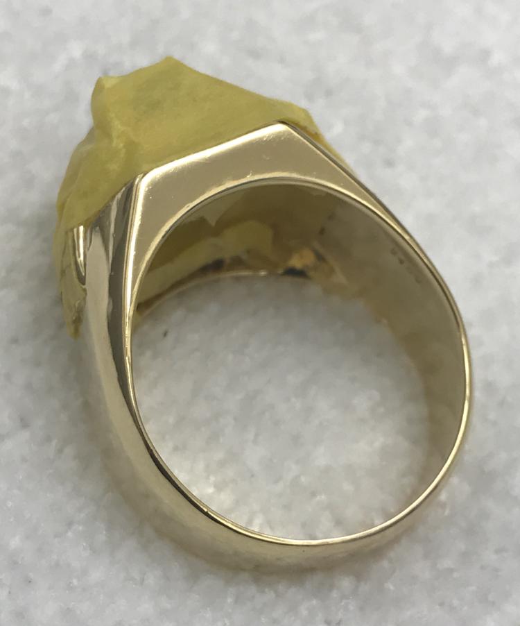 マスキングした指輪