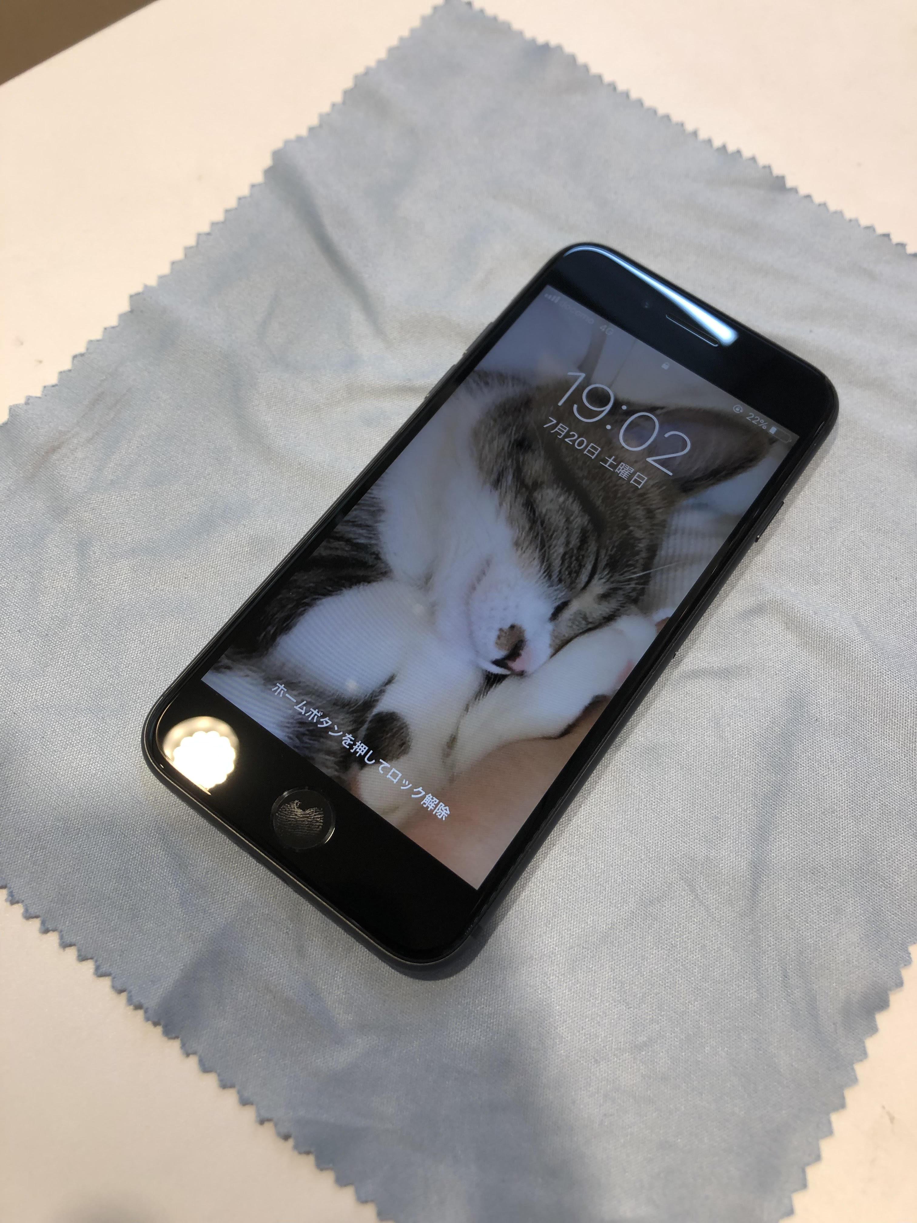 [自由が丘店] iPhone6sのガラスコーティング!!