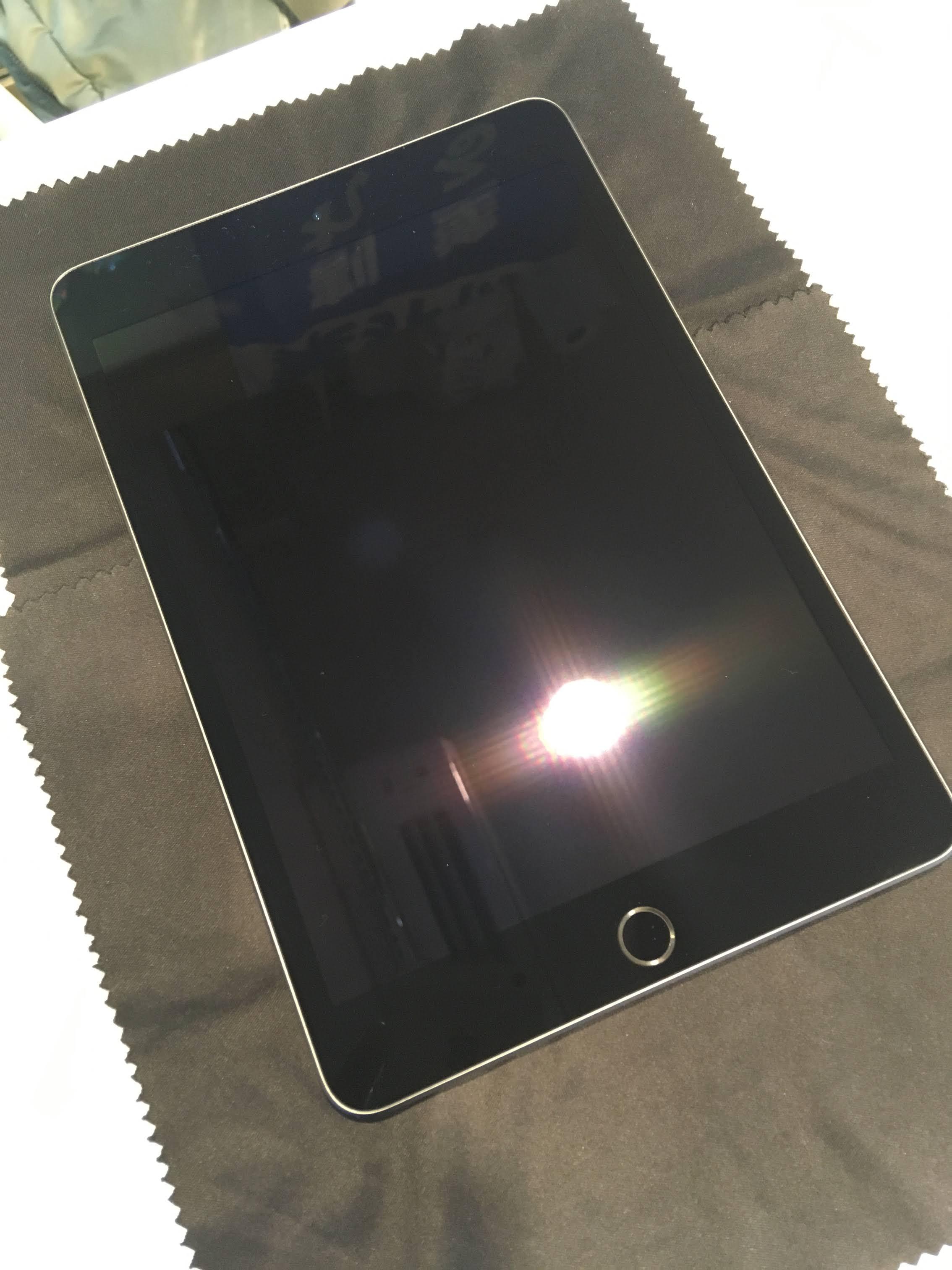 iPad mini ガラスコーティング
