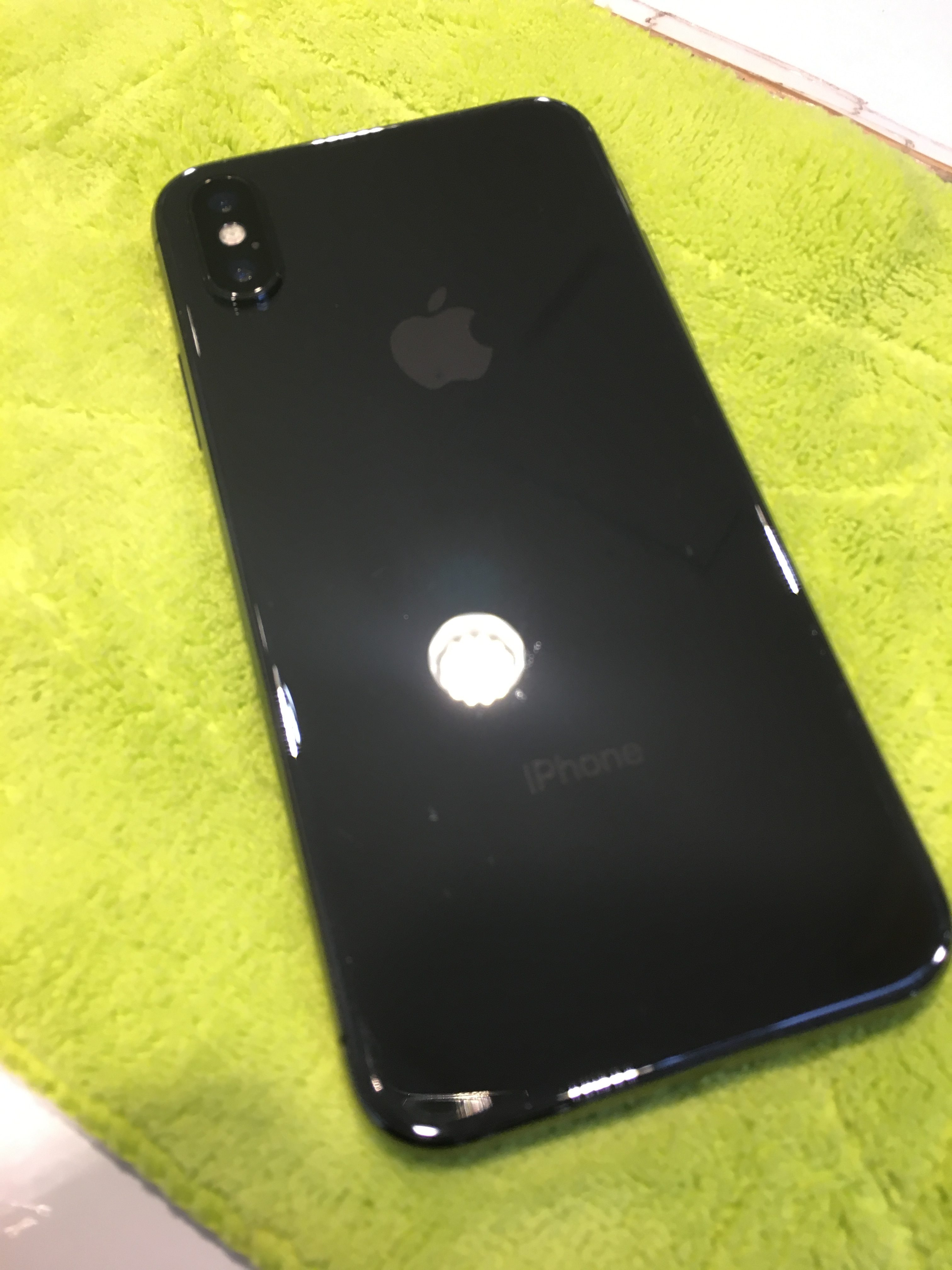 [自由が丘]iPhone X チタンコーティング!!!